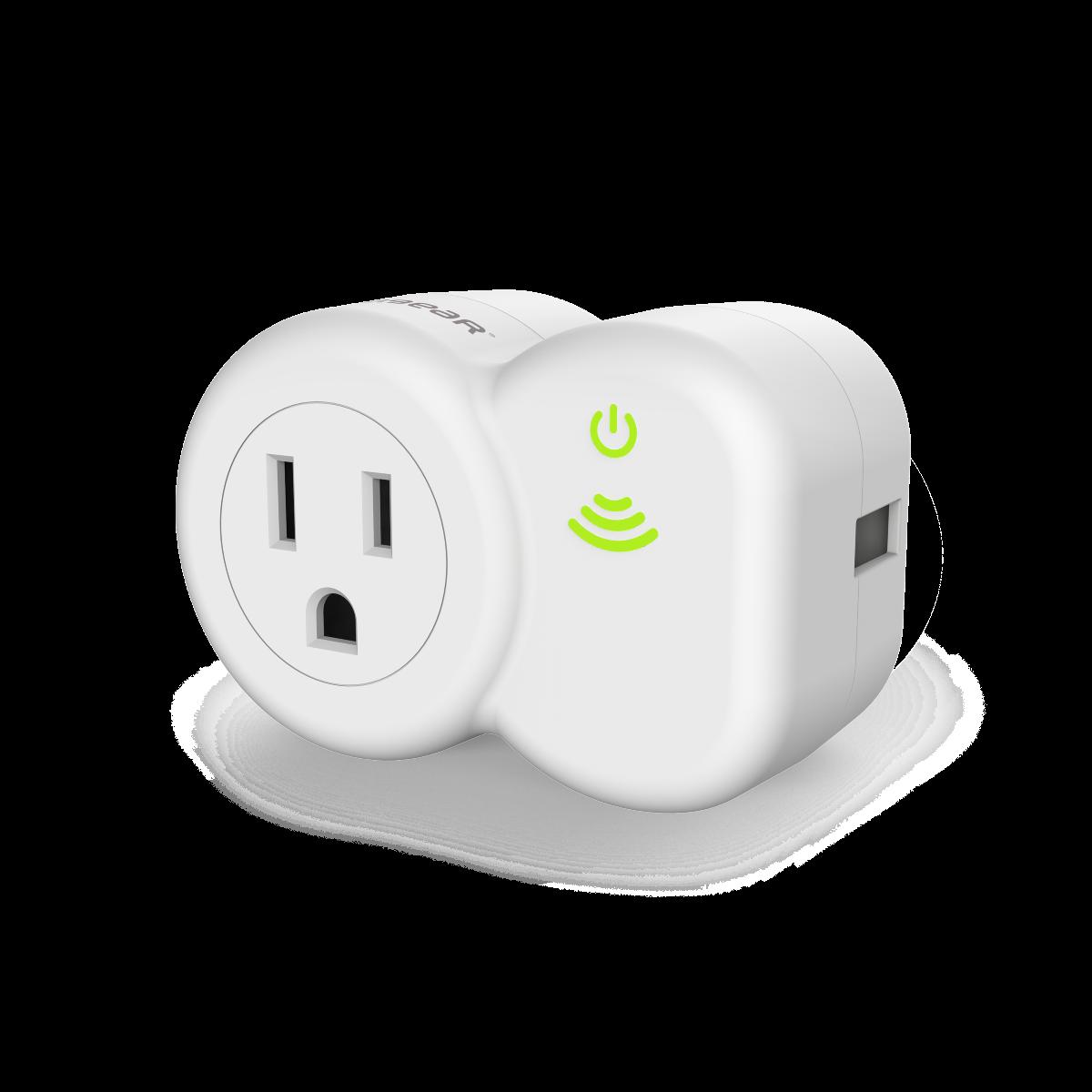 PureSwitch Smart Remote Plug - White