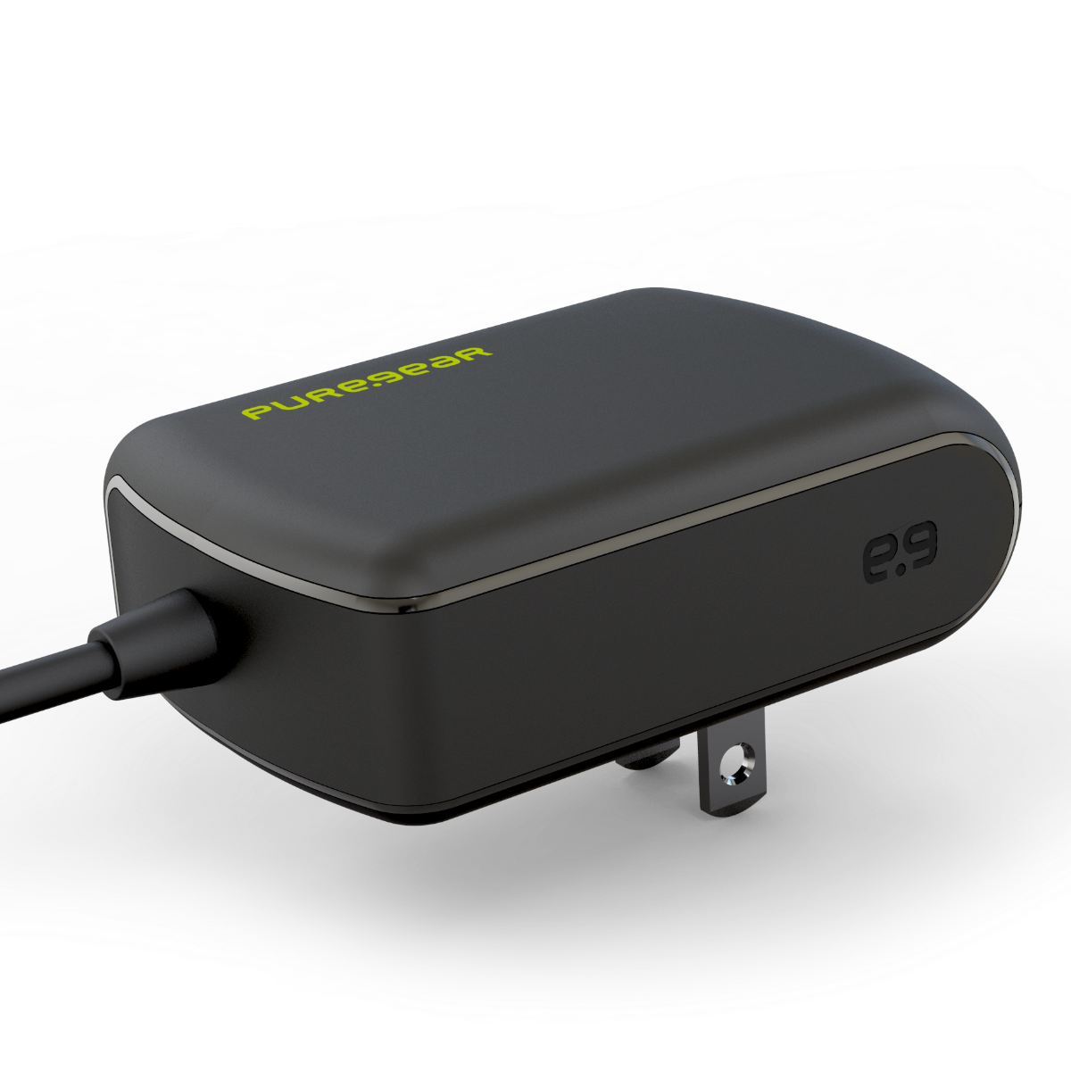 15w USB-C Wall Charger - Black