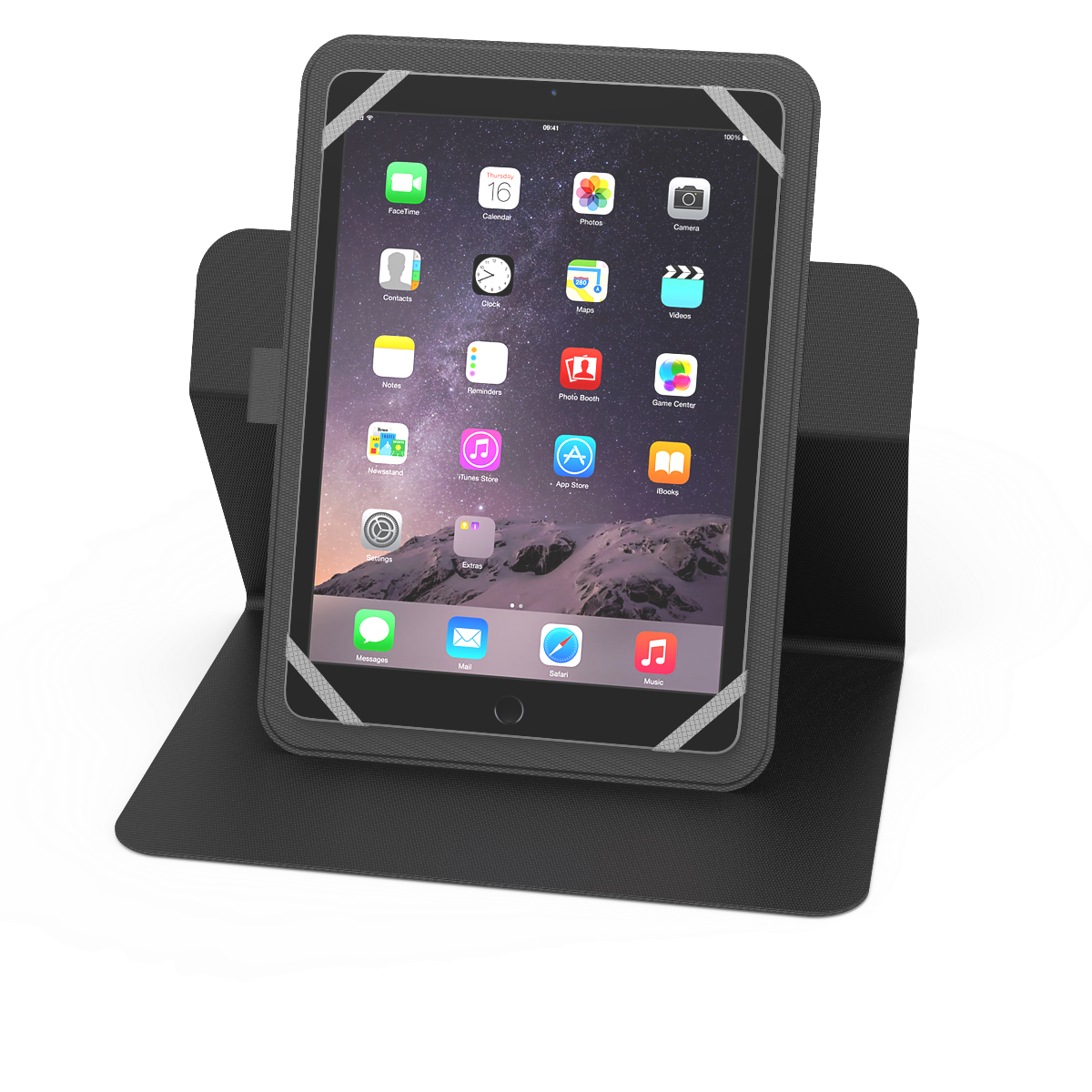10inch Tablet Folio - Black