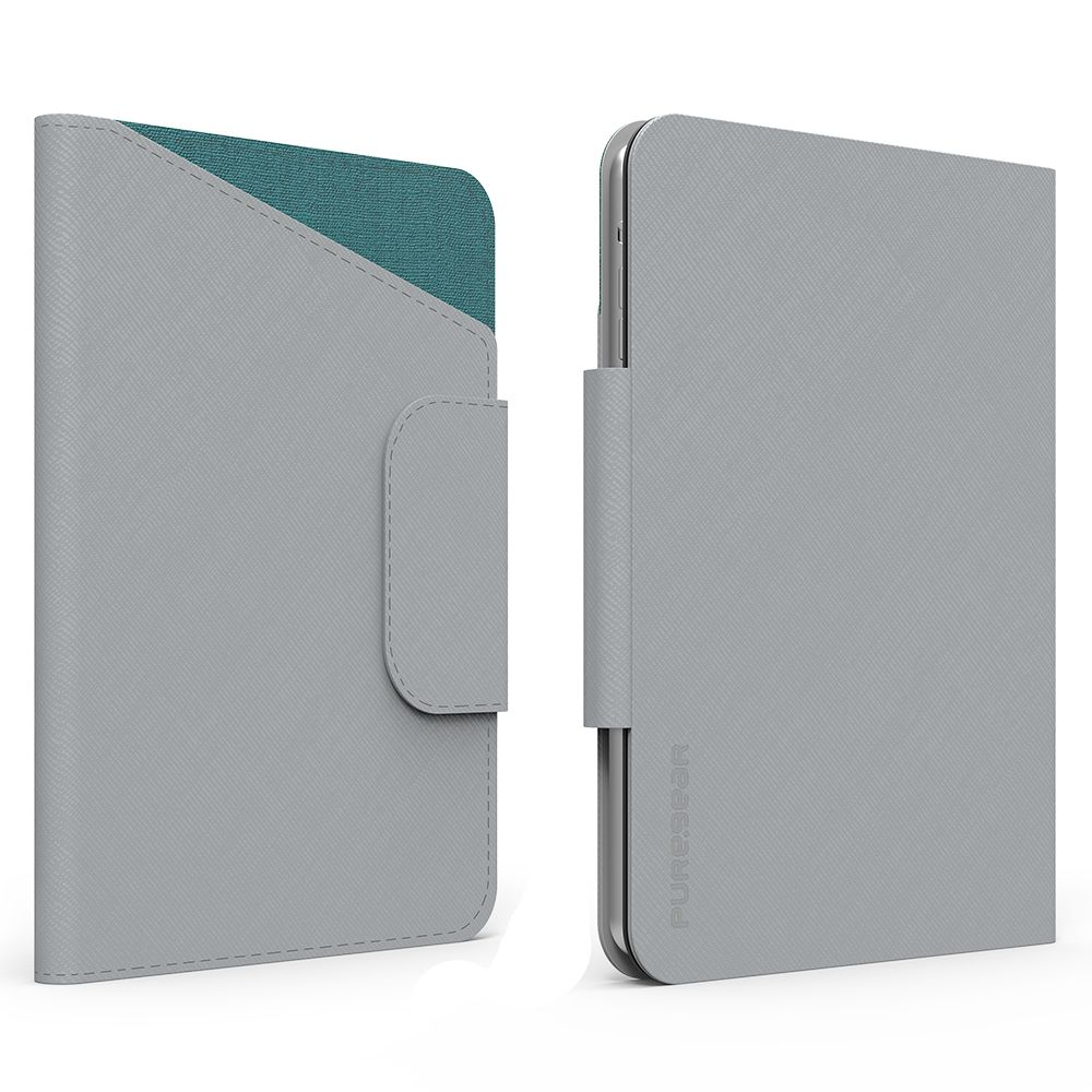 8 inch Tablet Folio Elite with ID CC Slot - Gray/Teal