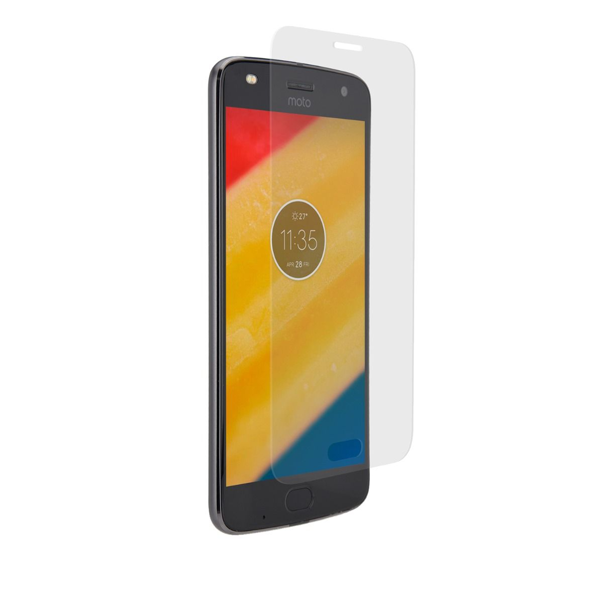 Motorola moto Z2 Play High-Definition Glass Screen Protector with Alignment Tray