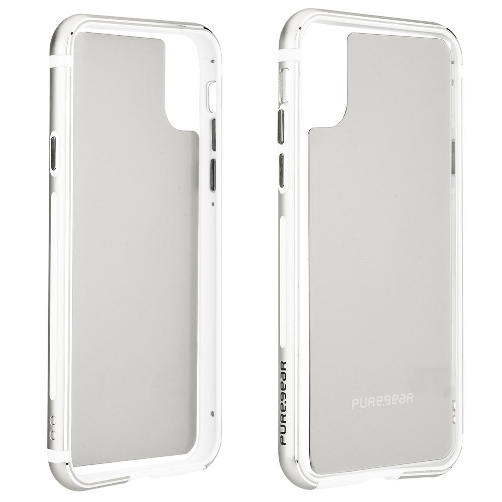 Apple iPhone Xs/X GlassBak 360 - Silver