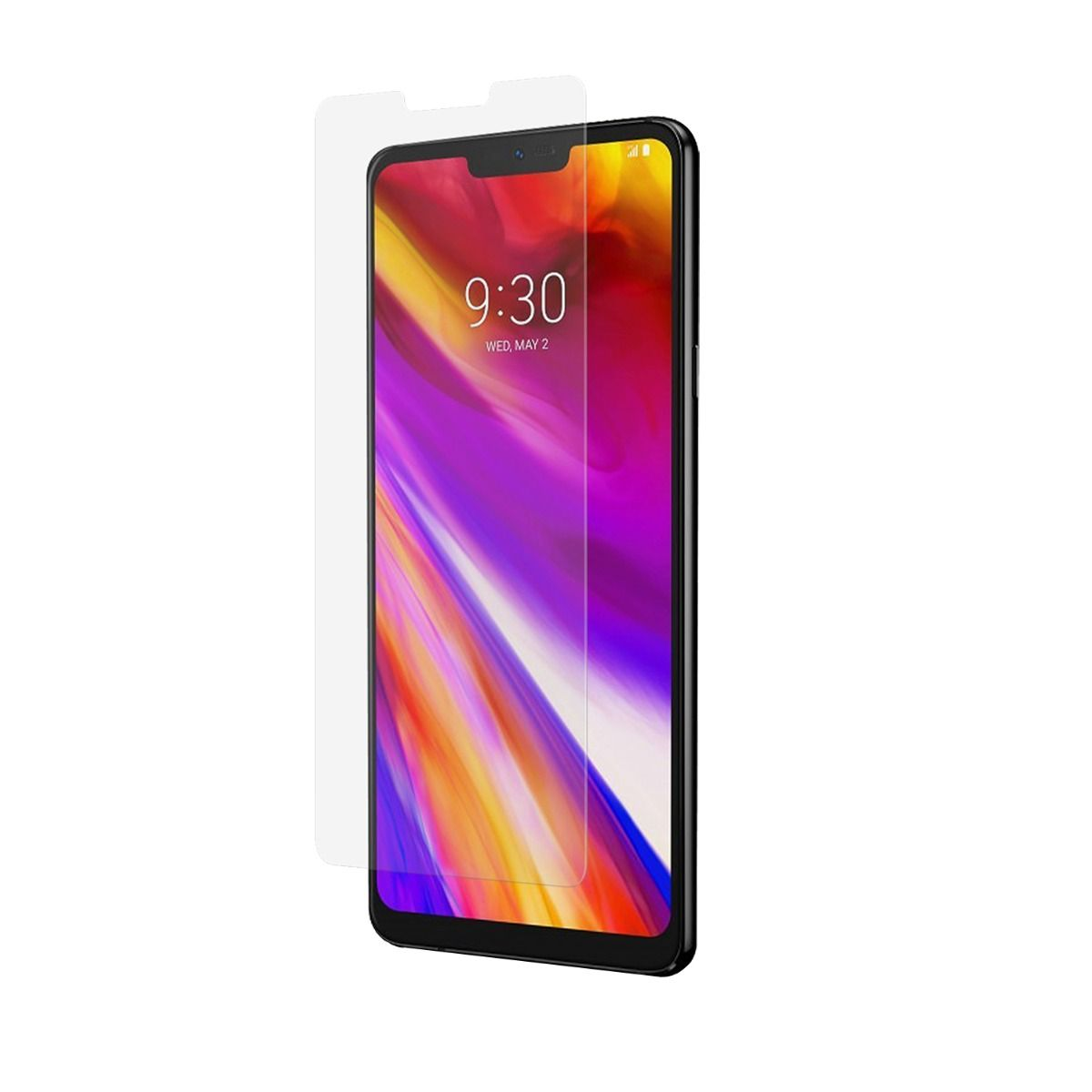 LG G7 ThinQ High-Definition Glass Screen Protector with Alignment Tray