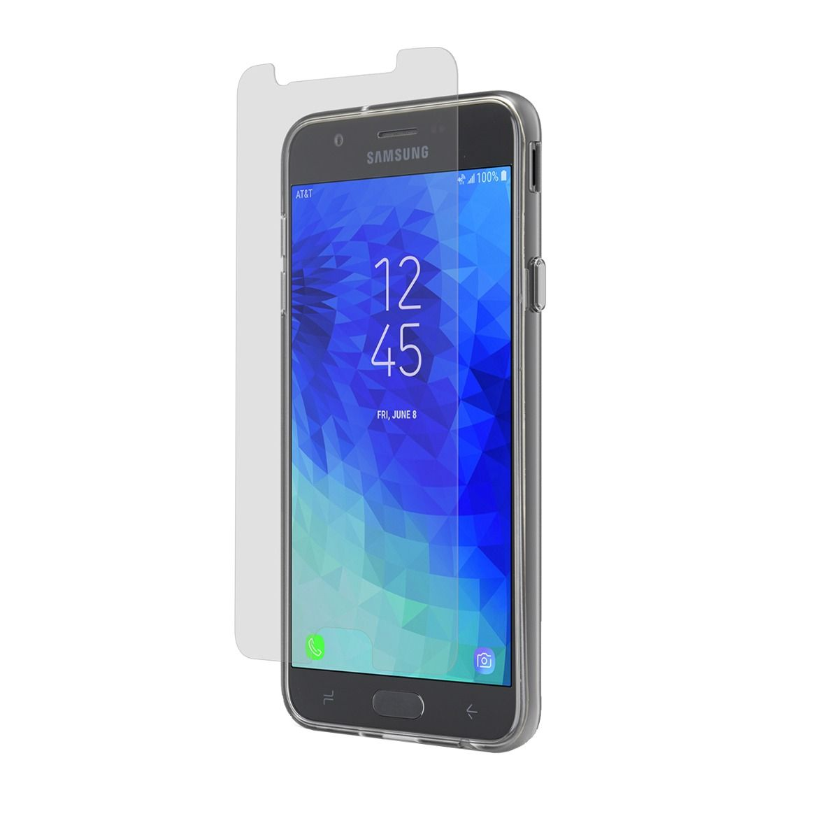Samsung Galaxy J7 2018 High-Definition Glass Screen Protector with Alignment Tray