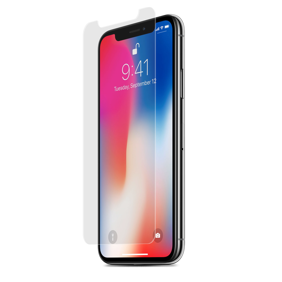 Apple iPhone Xs Max High-Definition Glass Screen Protector with Alignment Tray