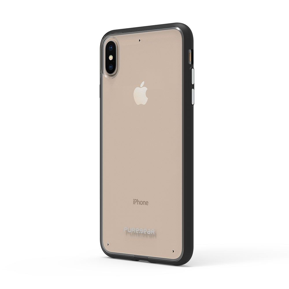 Apple iPhone Xs Max Slim Shell Case - Clear/Black
