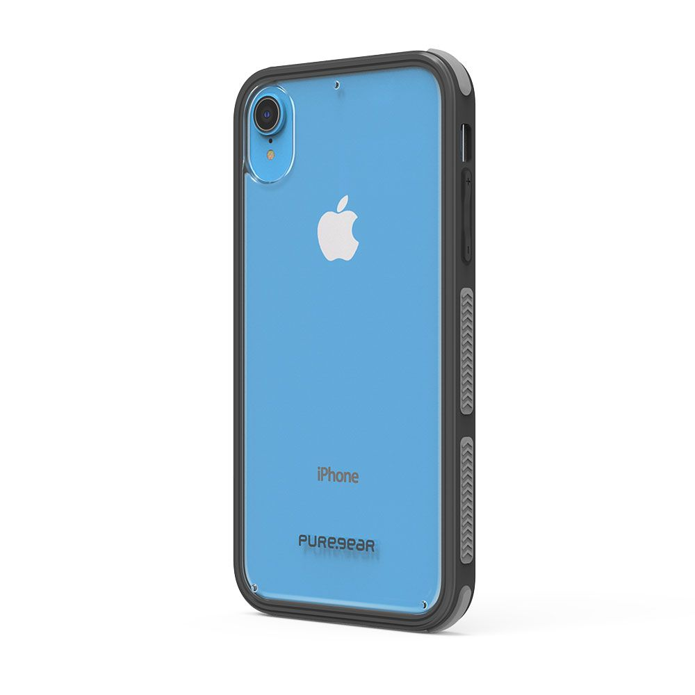 Apple iPhone XR DualTek Clear Case - Clear/Black