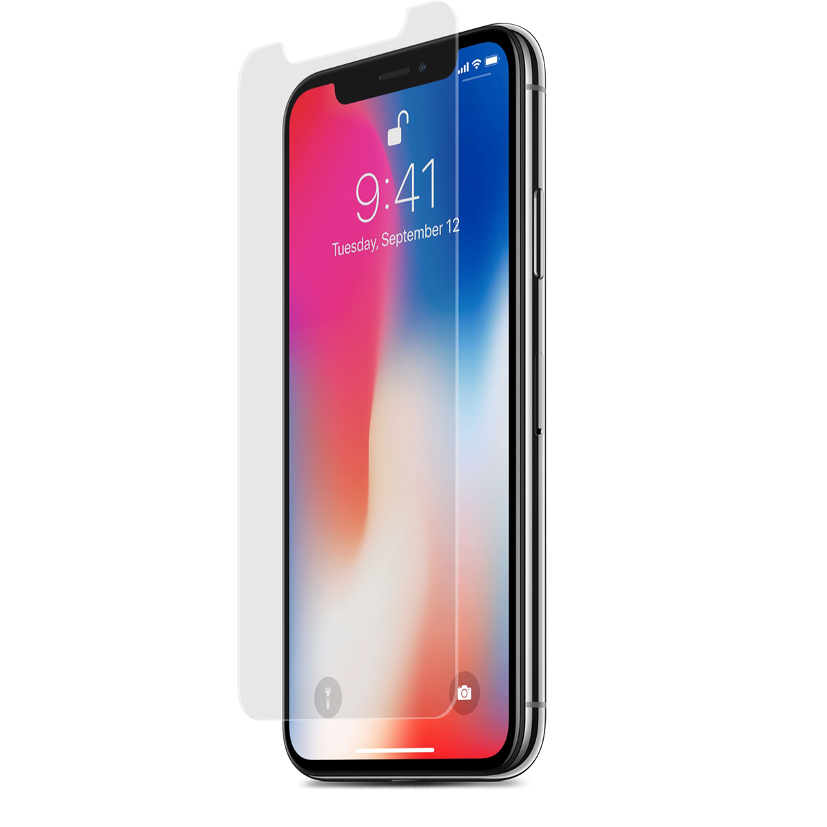 Apple iPhone Xs/X High-Definition Glass Screen Protector with Alignment Tray