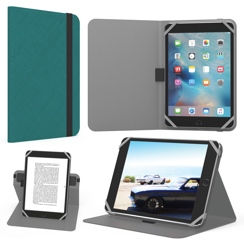 9-10inch Universal Tablet Folio - Teal