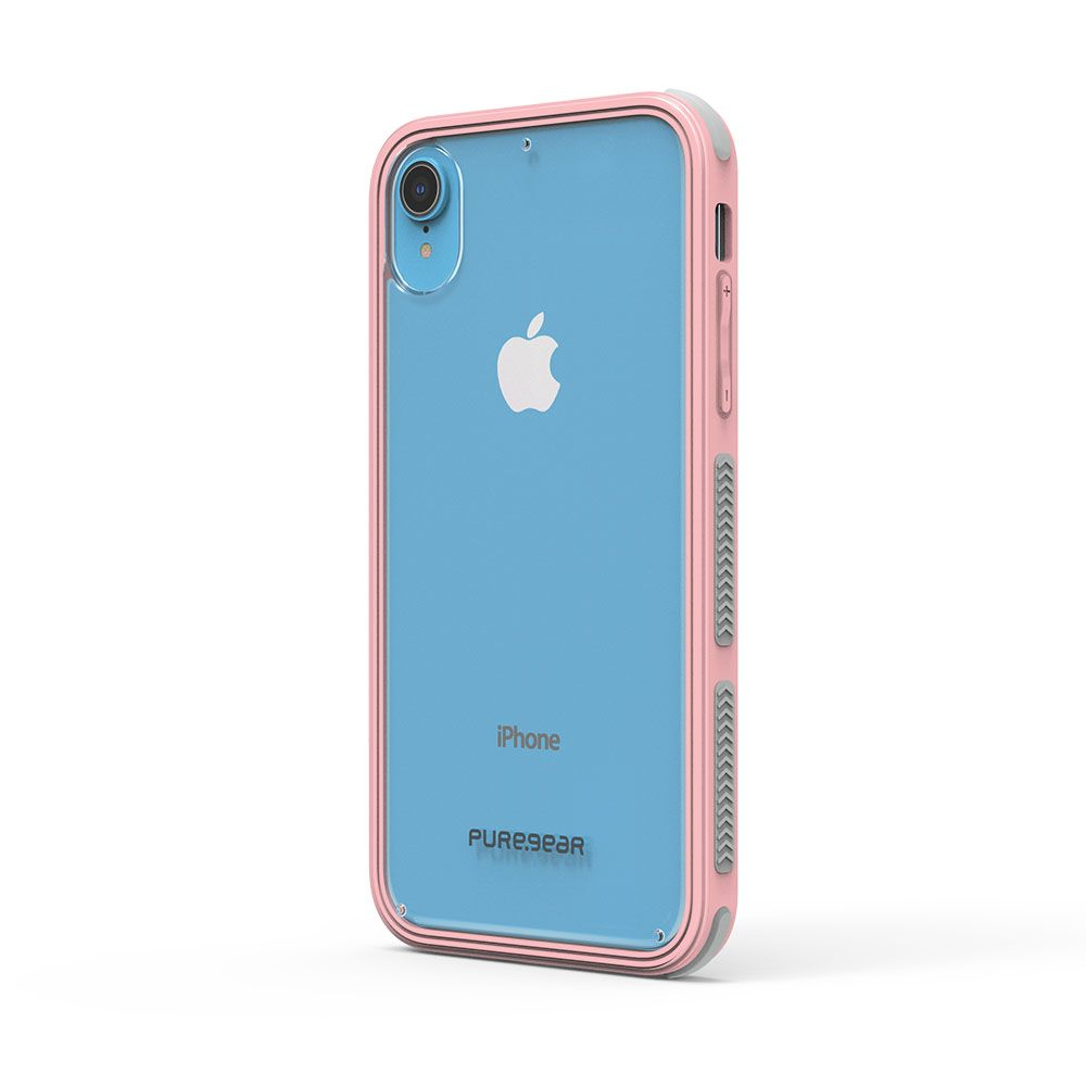 Apple iPhone XR DualTek Clear Case - Clear/ Soft Pink