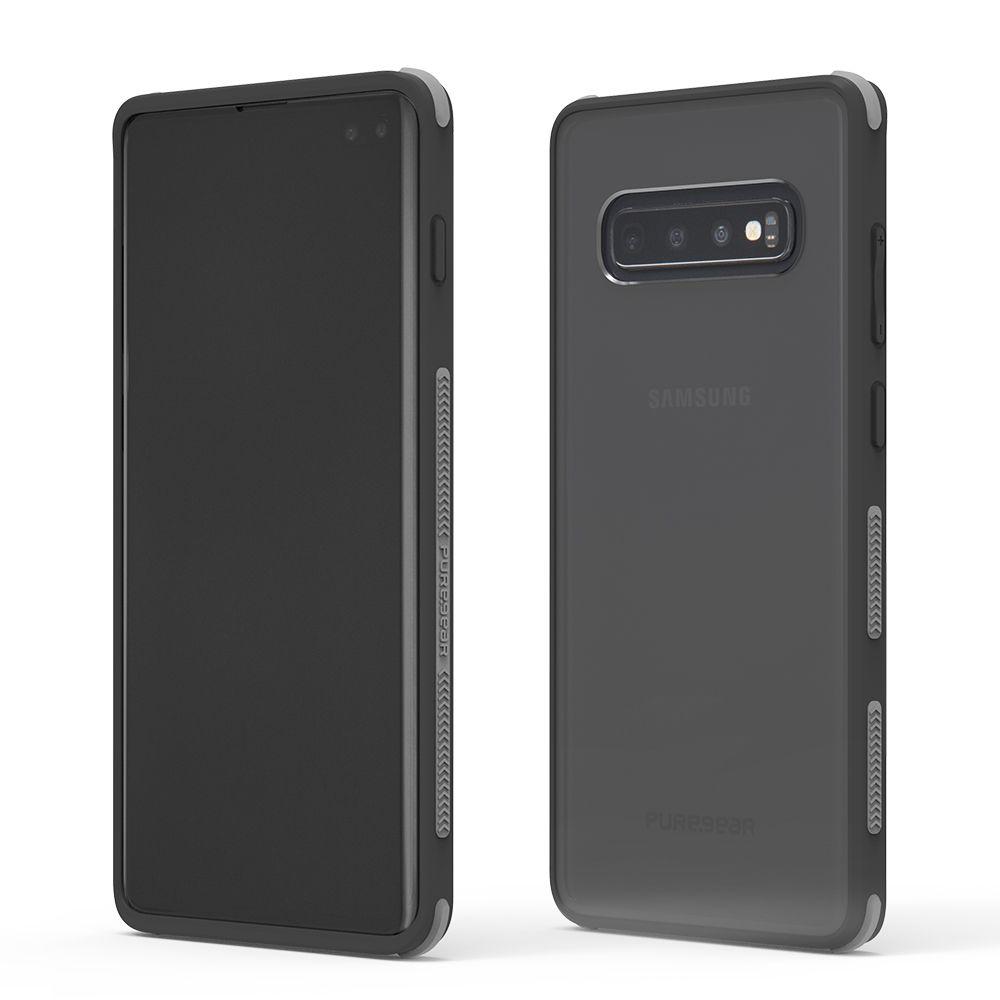 Samsung Galaxy S10 Plus DualTek Clear Case - Clear/Black