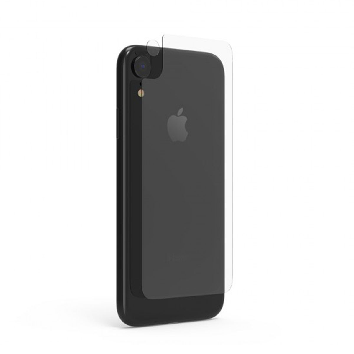 Apple iPhone XR Back PU with Tray + 1 Camera Lens Screen Protector