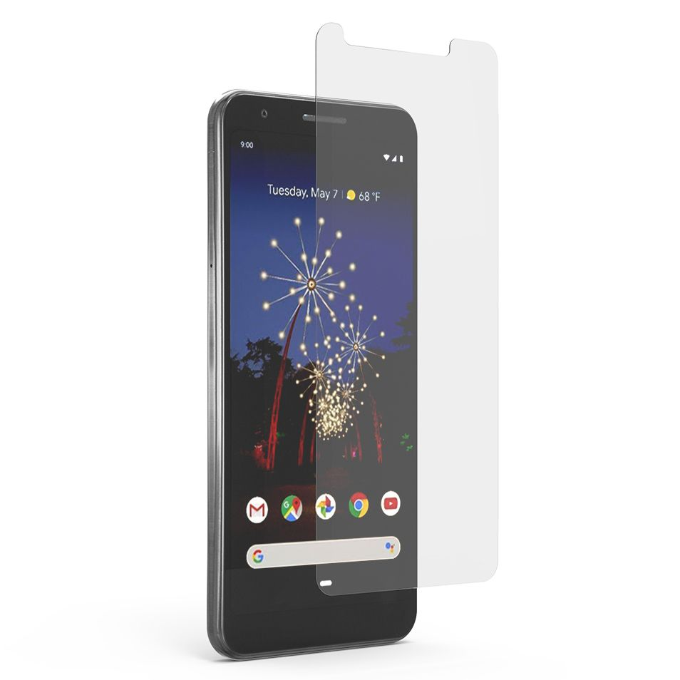 Google Pixel 3a High-Definition Clear Screen Protector with Alignment Tray