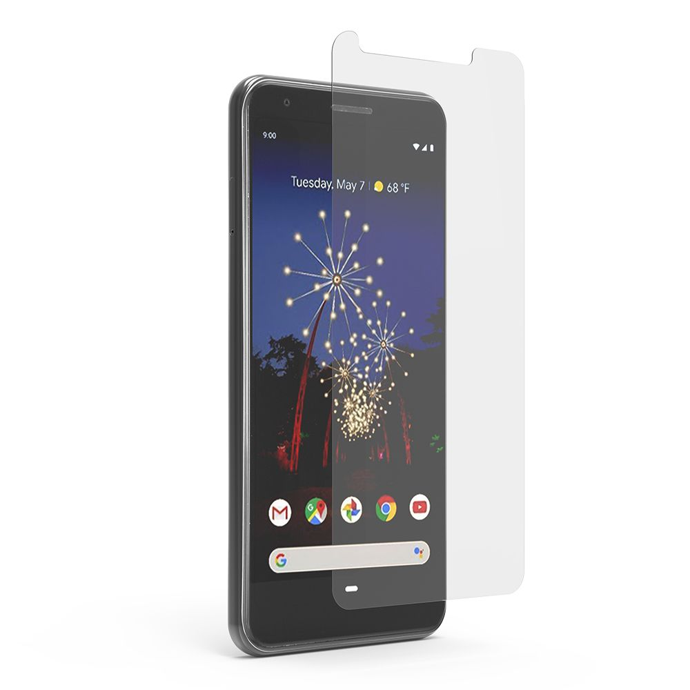 Google Pixel 3a XL High-Definition Clear Film Screen Protector with Perfect Alignment Tray™