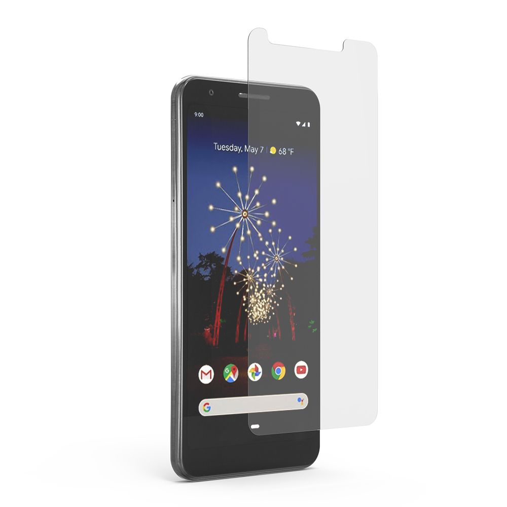Google Pixel 3a High-Definition Glass Screen Protector with Alignment Tray