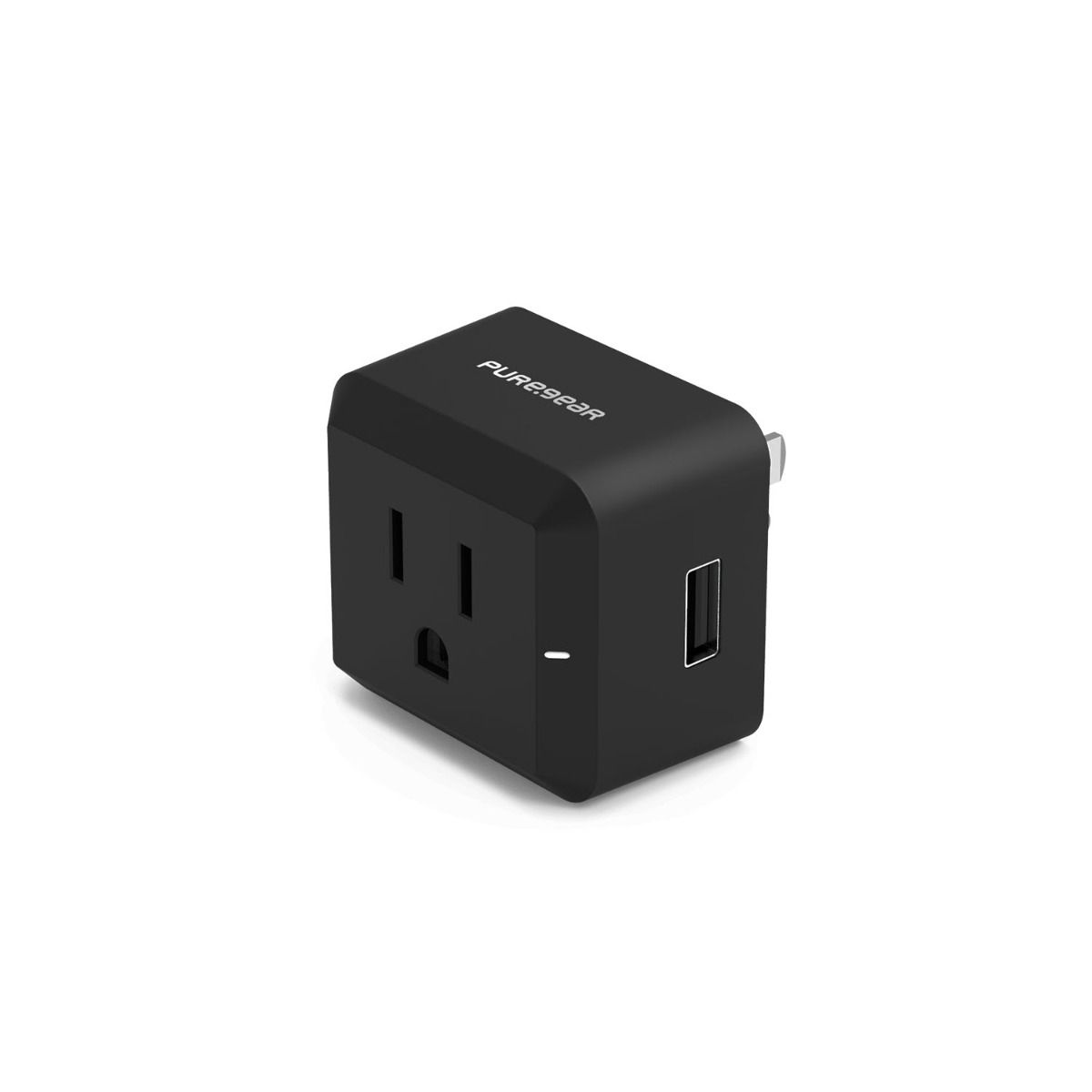 12W USB-A + AC Port Wall Charger