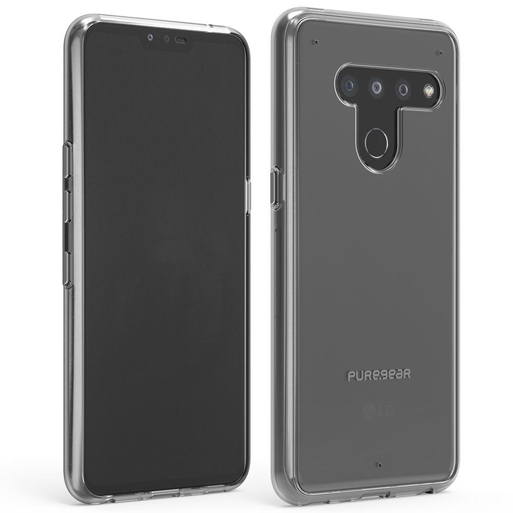 LG V50 ThinQ Slim Shell Case - Clear/Clear