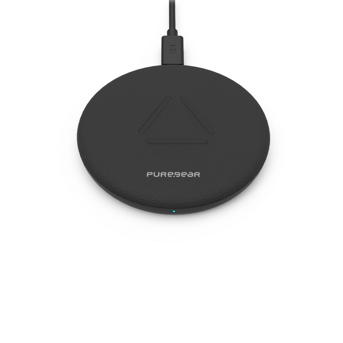 7.5W/10W Fast Wireless Charging Pad (Includes Wall Adapter) - Black