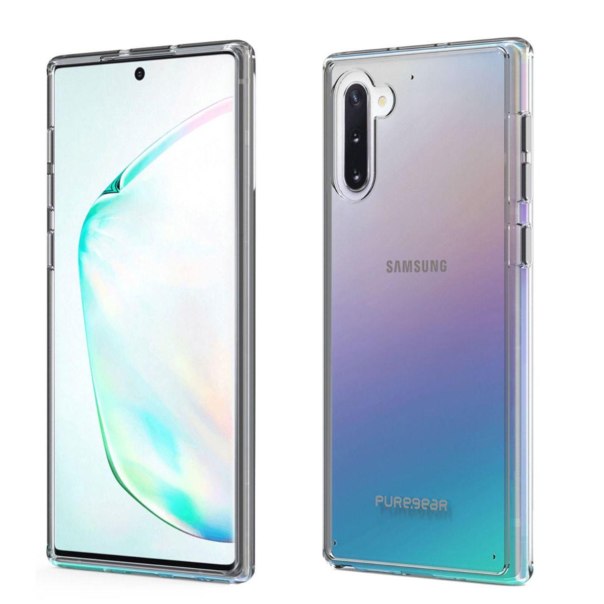 Samsung Galaxy Note10 Slim Shell Case - Clear/Clear