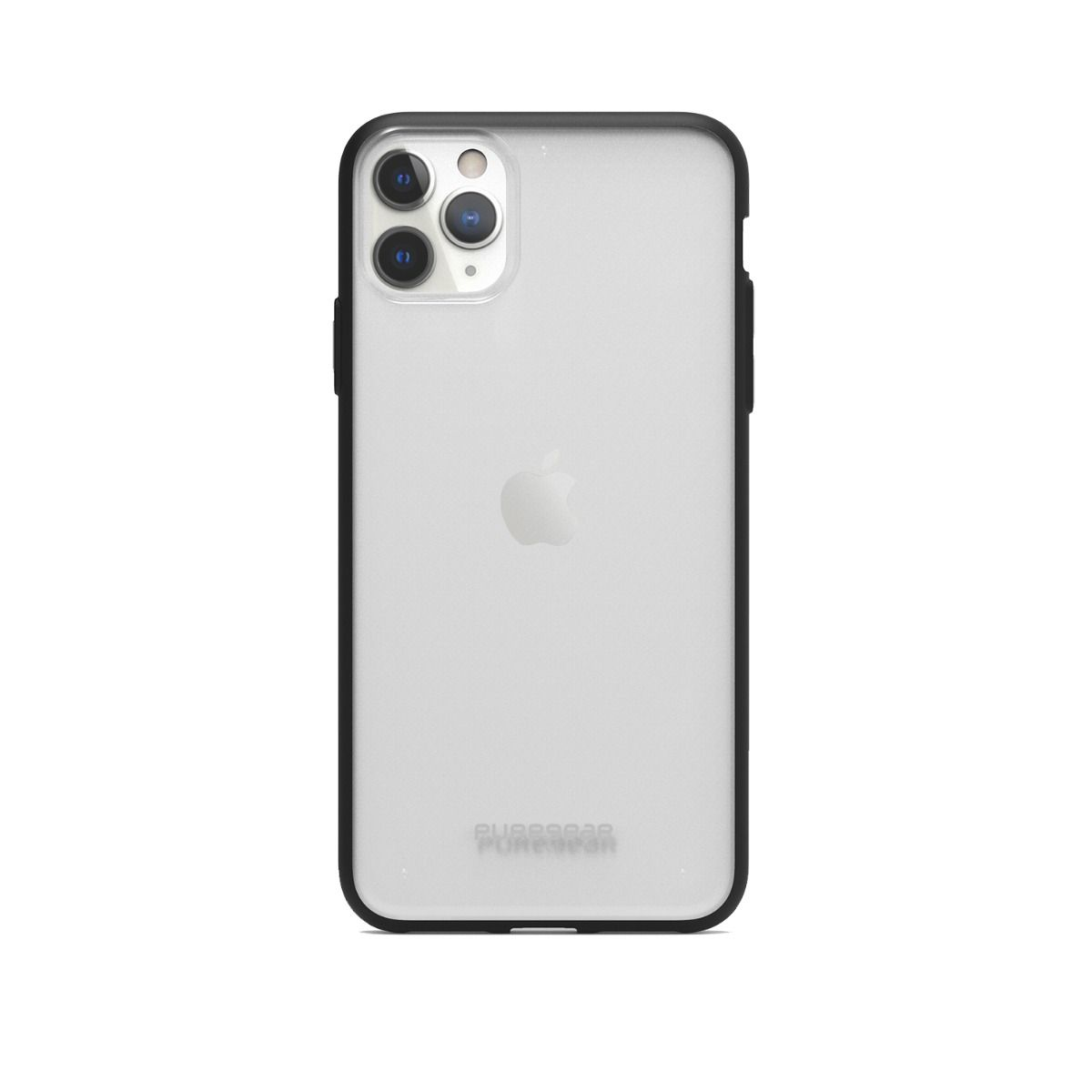 Apple iPhone 11 Pro Max Slim Shell Case - Clear/Black