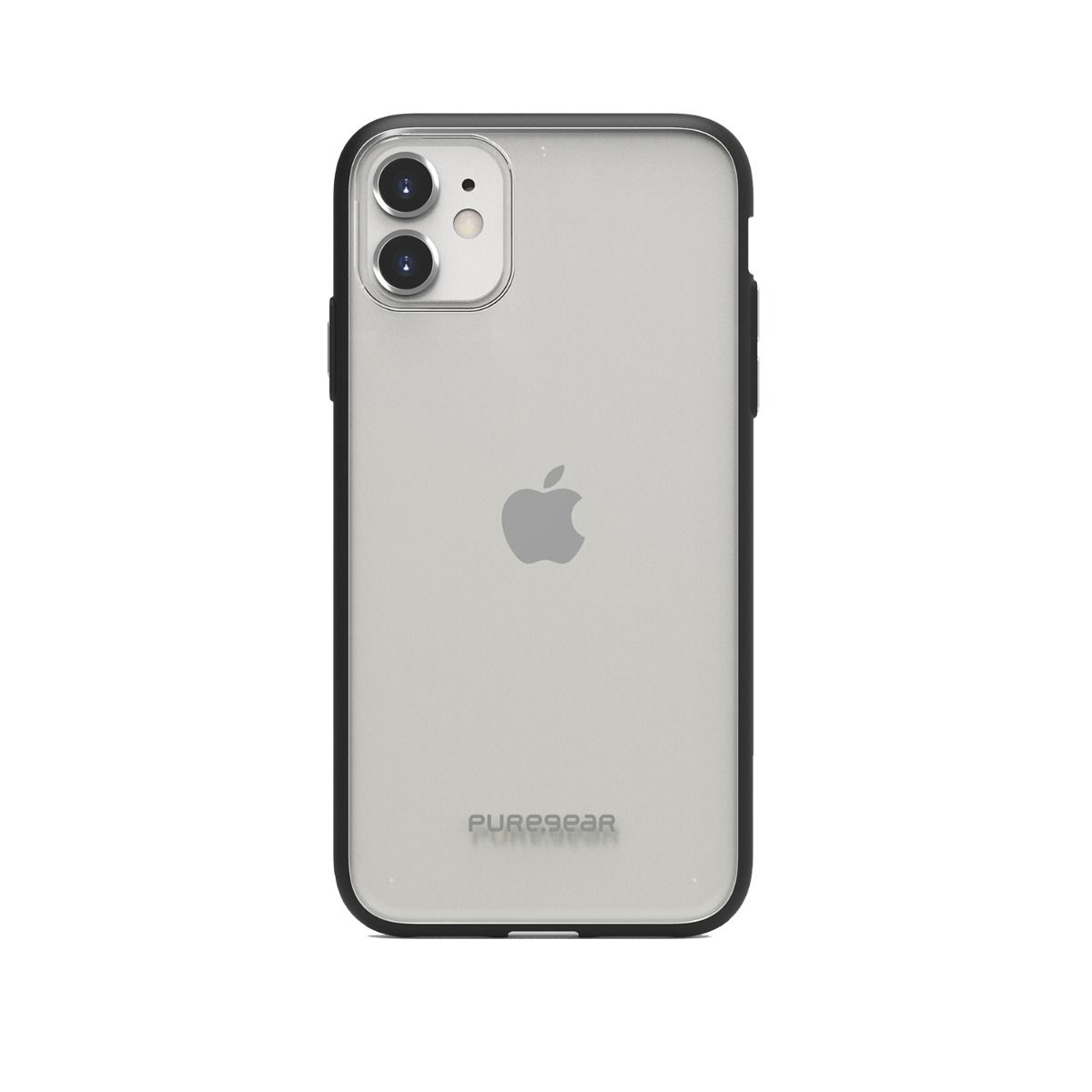 Apple iPhone 11 Slim Shell Case - Clear/Black