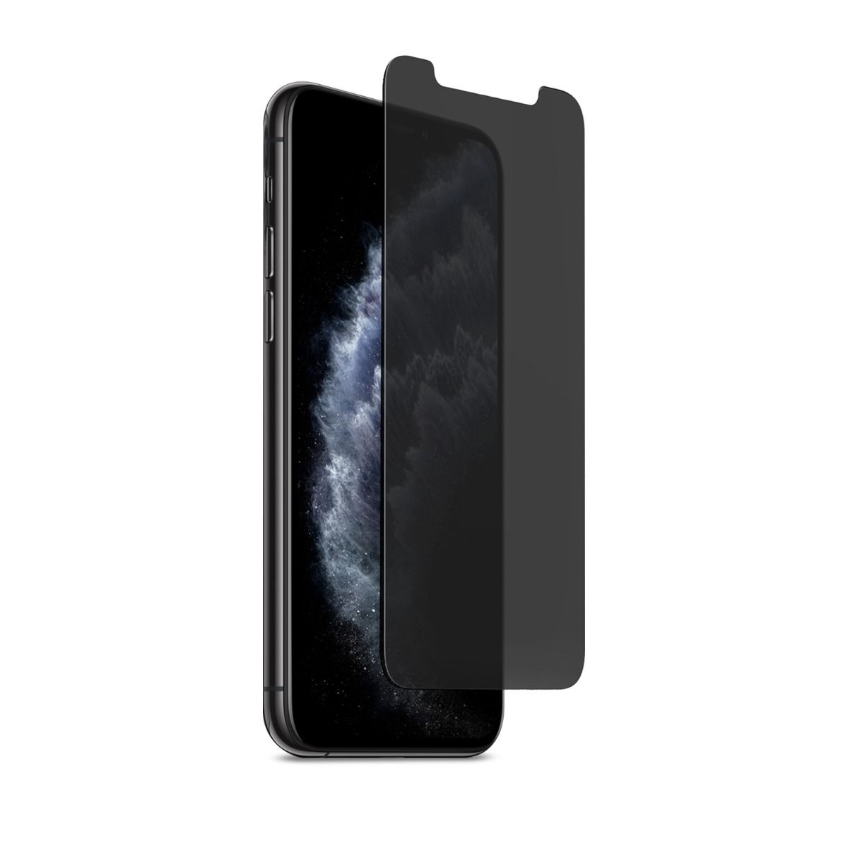 Apple iPhone 11 Pro 2-Way Privacy Glass Screen Protector with Alignment Tray