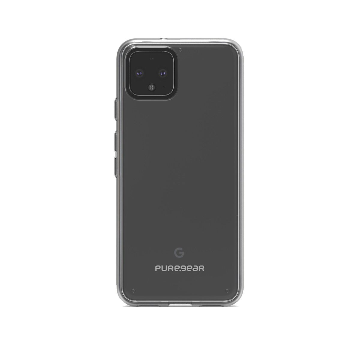Google Pixel 4 Slim Shell Case - Clear/Clear