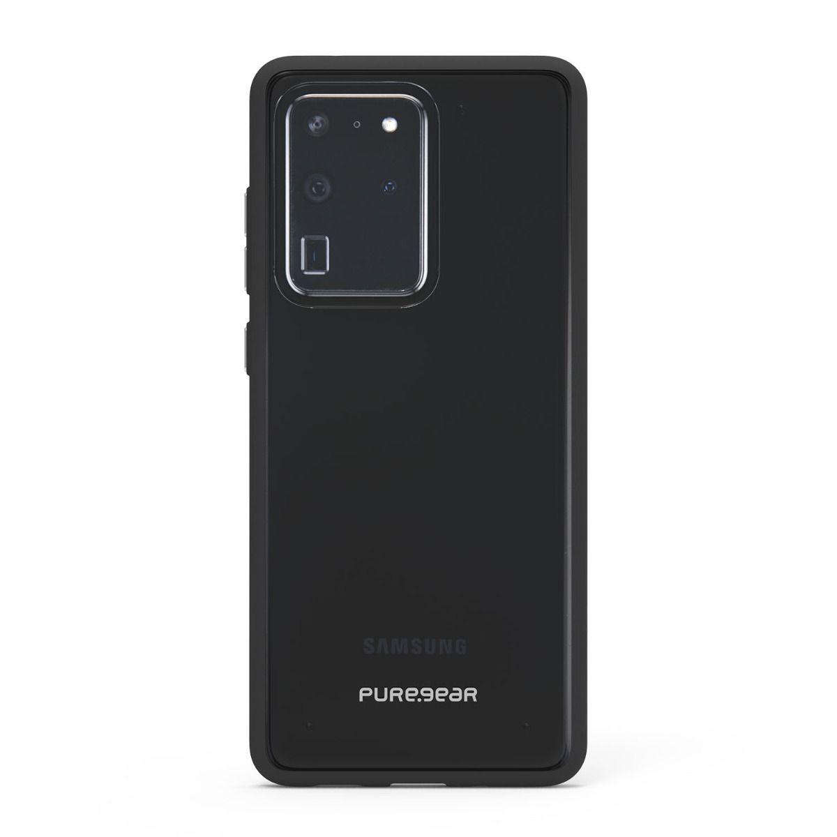 Samsung Galaxy S20 Ultra Slim Shell Case - Clear/Black