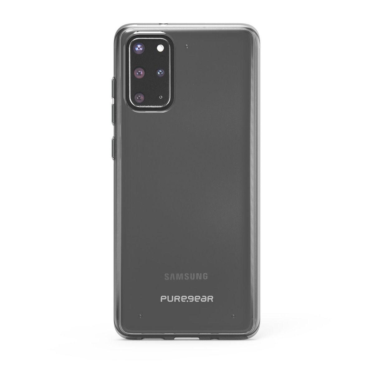 Samsung Galaxy S20+ Slim Shell Case - Clear/Black