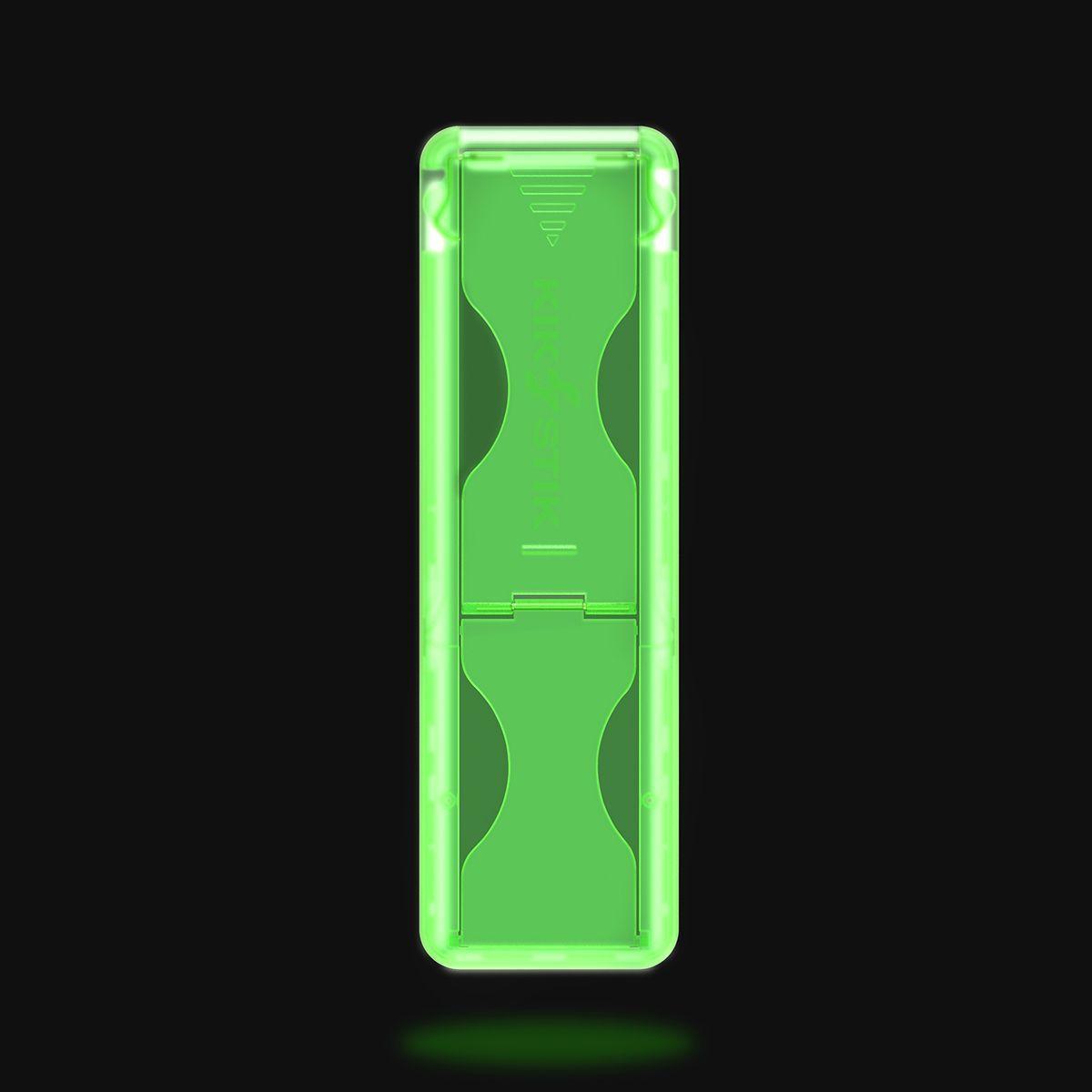 KikStik - Smartphone Kickstand - Glow in the Dark Green
