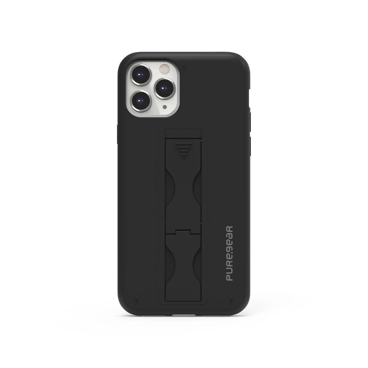 Apple iPhone 11 Pro SlimStik, Antimicrobial Kickstand Case – Black