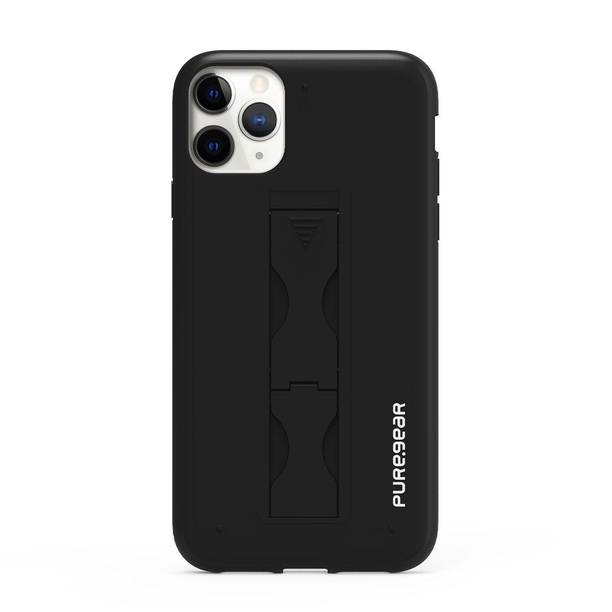 Apple iPhone 11 Pro Max SlimStik, Antimicrobial Kickstand Case – Nightfall