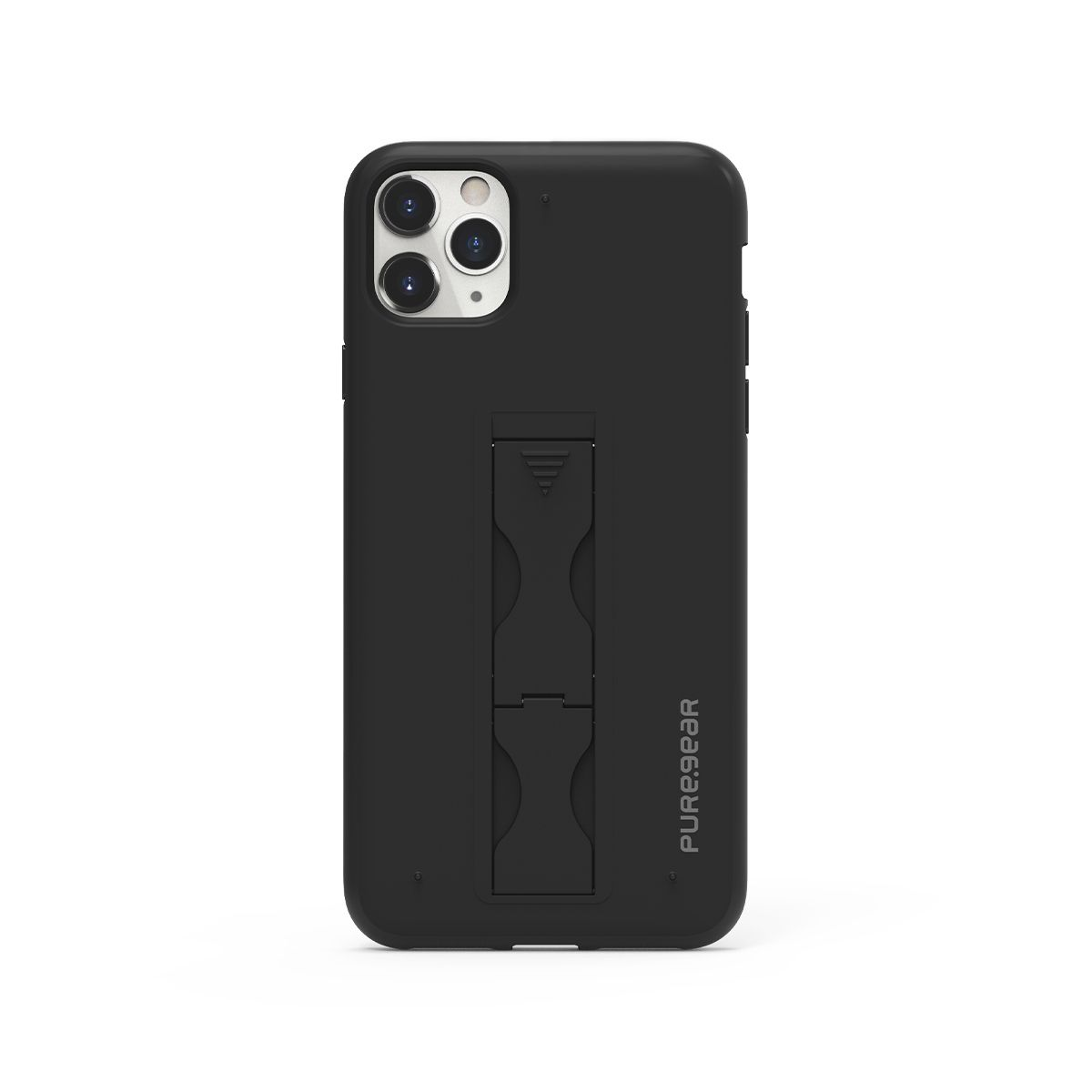 Apple iPhone 11 Pro Max SlimStik, Antimicrobial Kickstand Case – Black