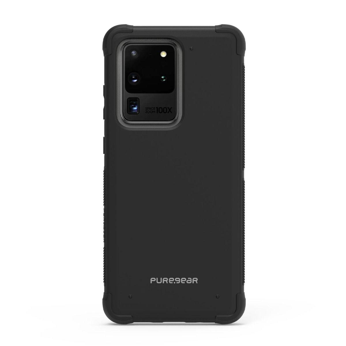 Samsung Galaxy S20 Ultra 5G DualTek Case - Black/Black