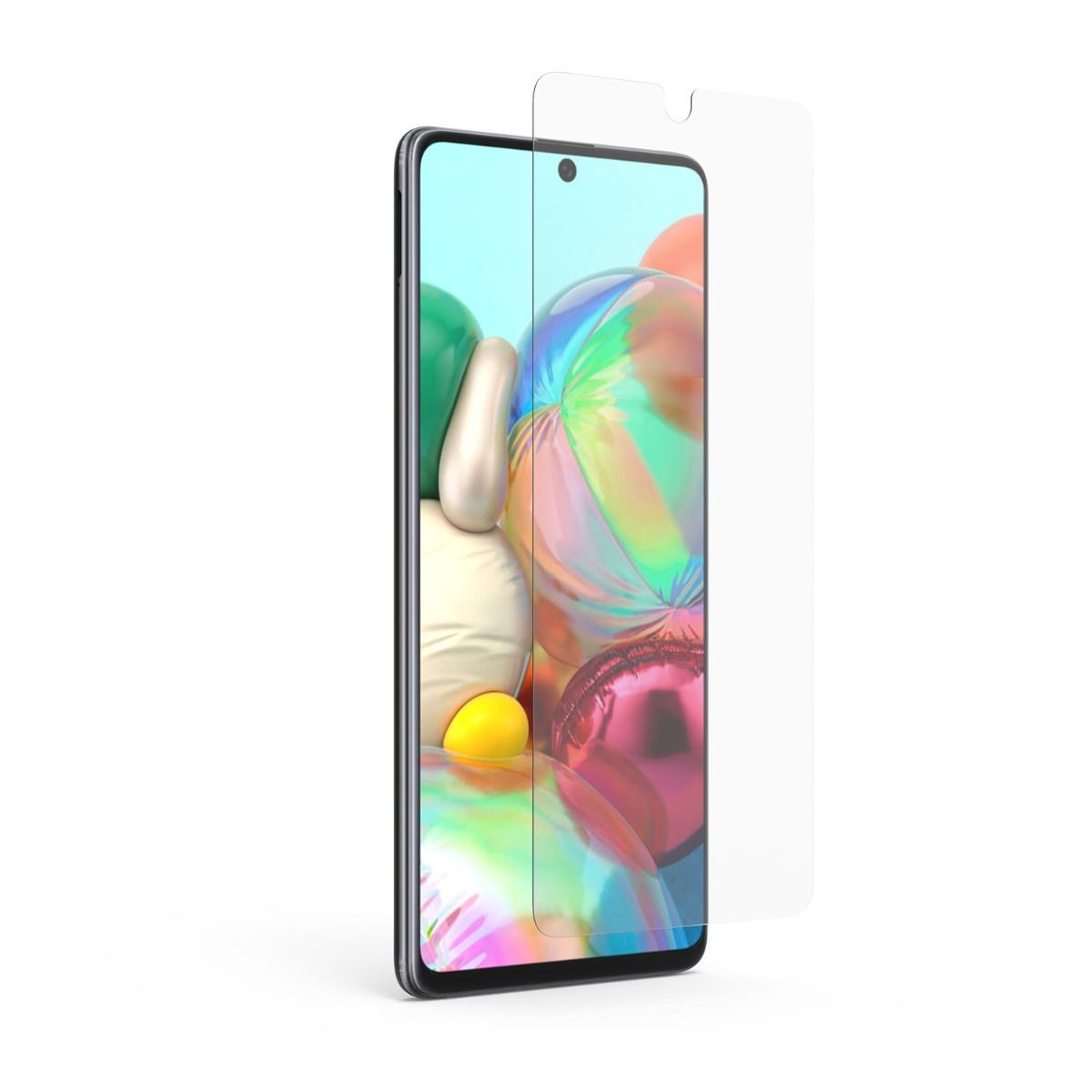 Samsung Galaxy A71 5G/UW 5G High-Definition Glass Screen Protector with Alignment Tray
