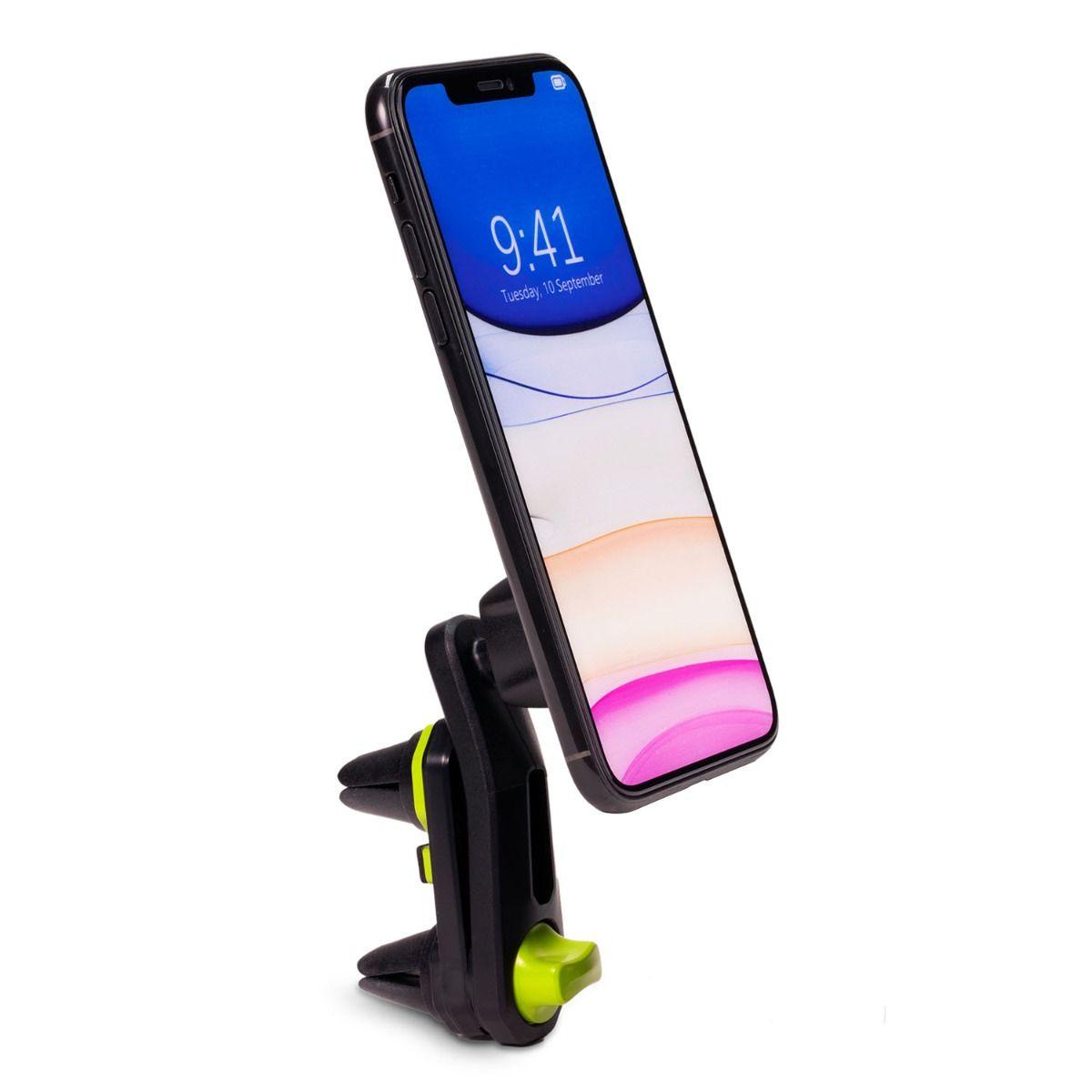 Universal Magnetic Vent Clip Car Mount - Black