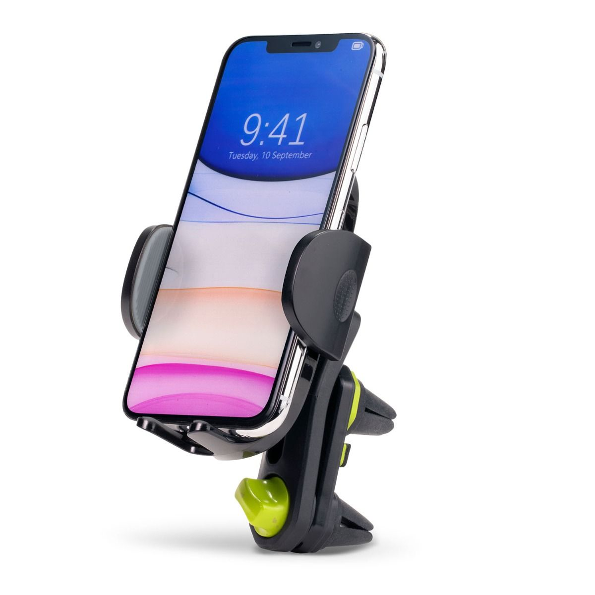Cradle Vent Clip Car Mount - Black