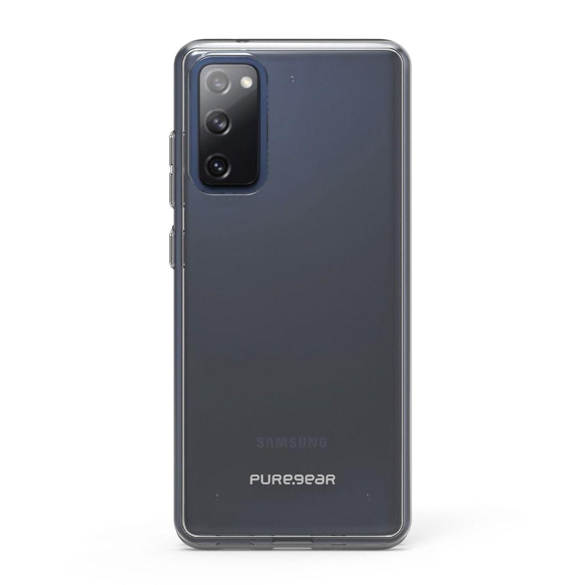 Samsung Galaxy S20 FE 5G Slim Shell Case - Clear/Clear