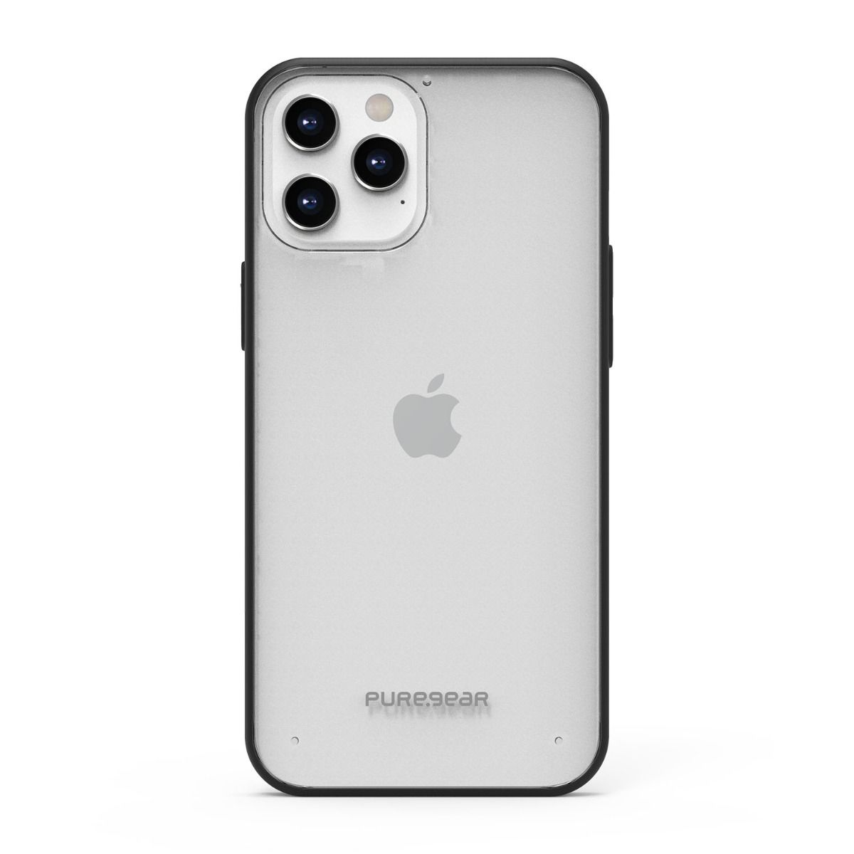 Apple iPhone 12 Pro Max Slim Shell Case - Clear/Black