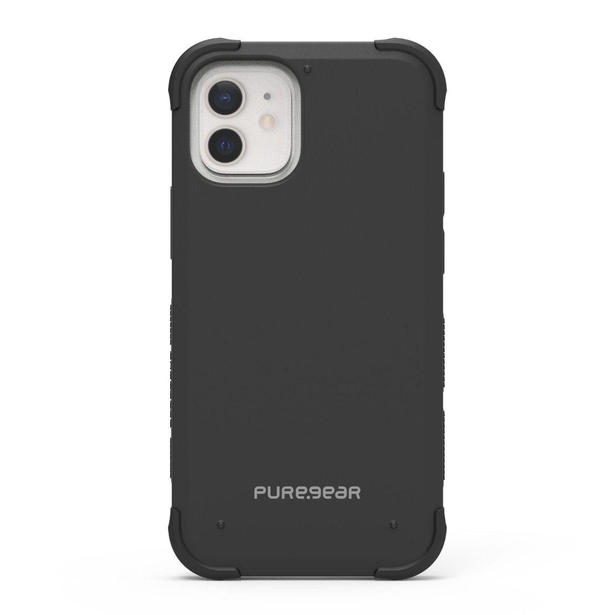 Apple iPhone 12 mini Dualtek Case - Black/Black