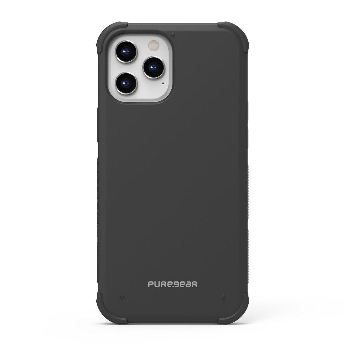 Apple iPhone 12 Pro Max Dualtek Case - Black/Black