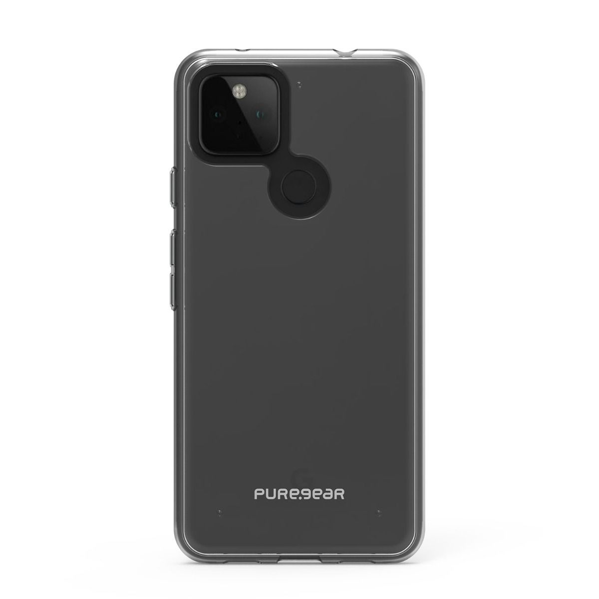 Google Pixel 4a 5G Slim Shell Case - Clear/Clear