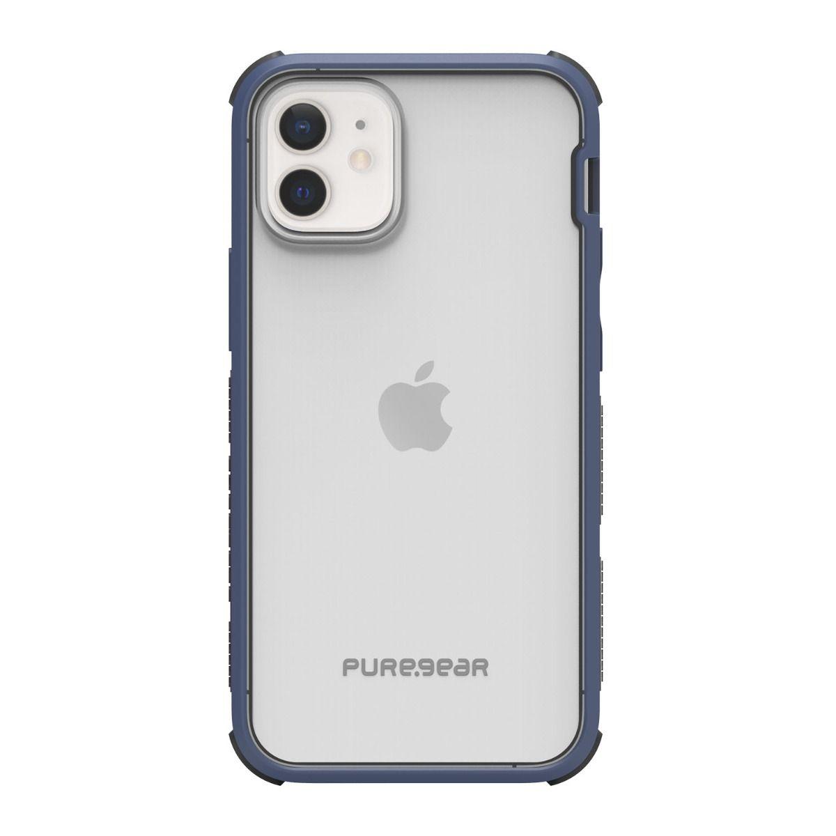 Apple iPhone 12 mini DualTek Clear - Blue/Black