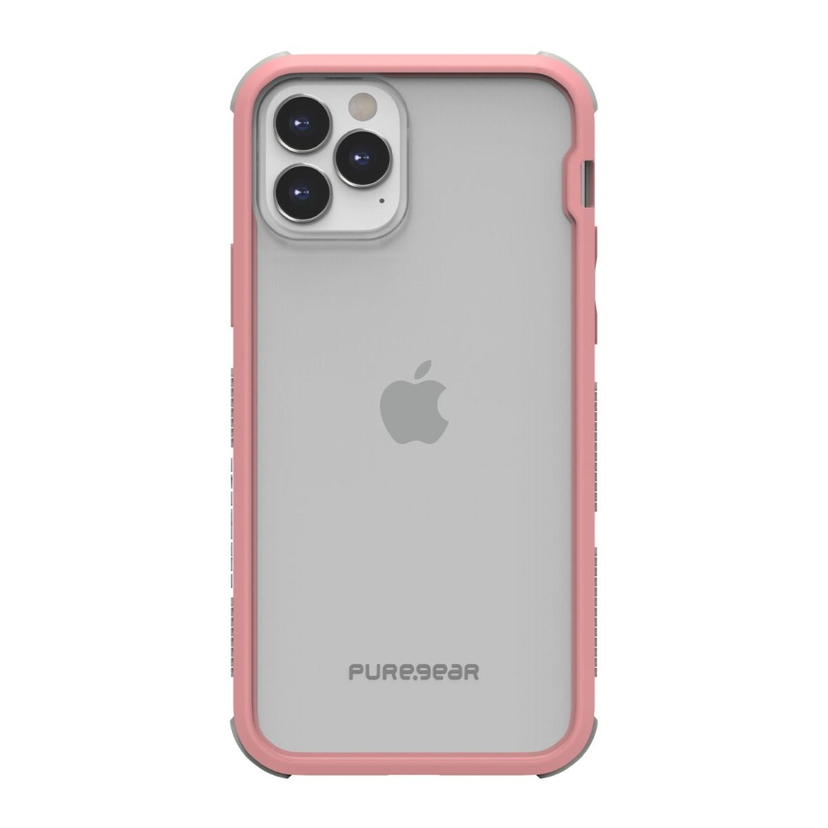 Apple iPhone 12/ 12 Pro DualTek Clear - Pink/Gray
