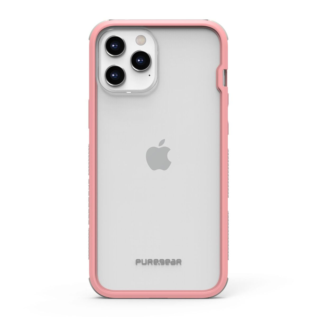 Apple iPhone 12 Pro Max DualTek Clear - Pink/Gray