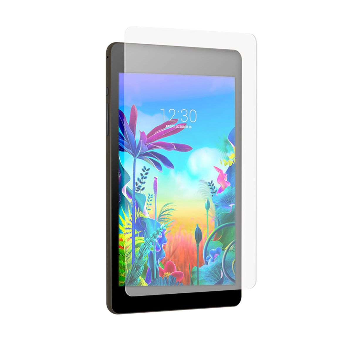 LG G Pad 5 10.1 FHD High-Definition Glass Screen Protector with Alignment Tray