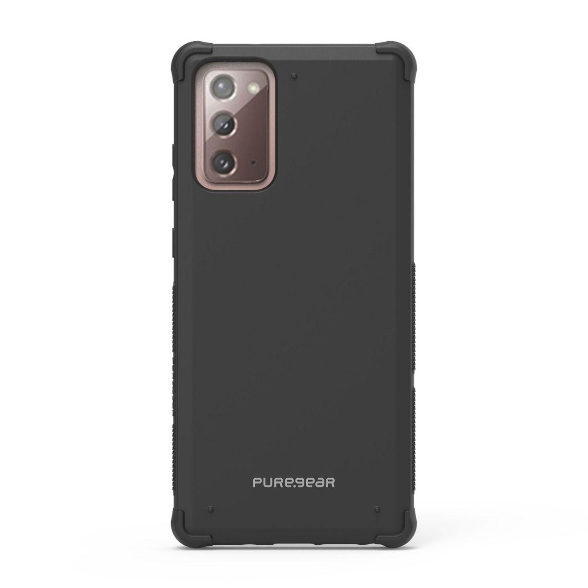 Samsung Galaxy Note20 5G Dualtek Case - Black/Black