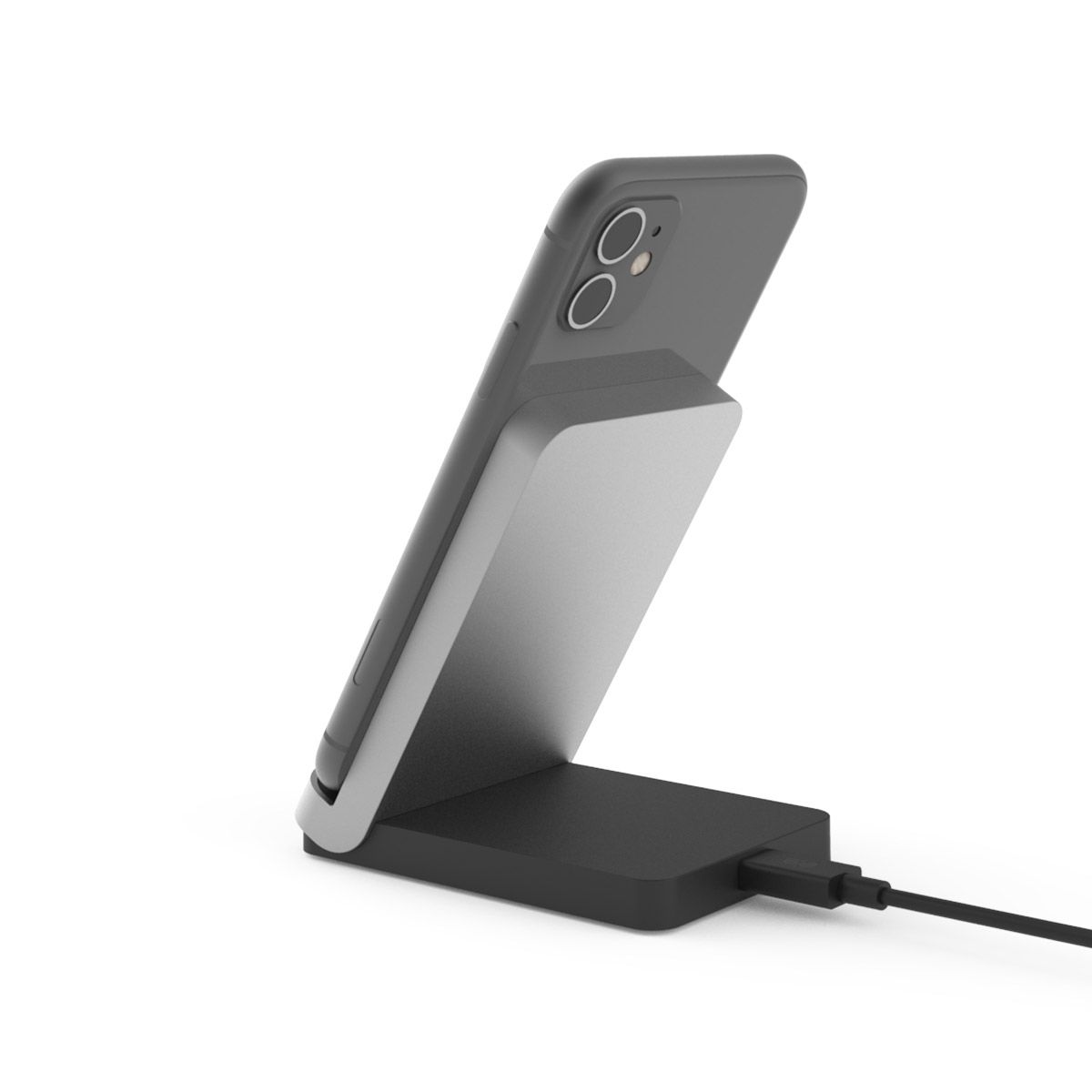 10W 2-Coil Qi Wireless Charging Stand