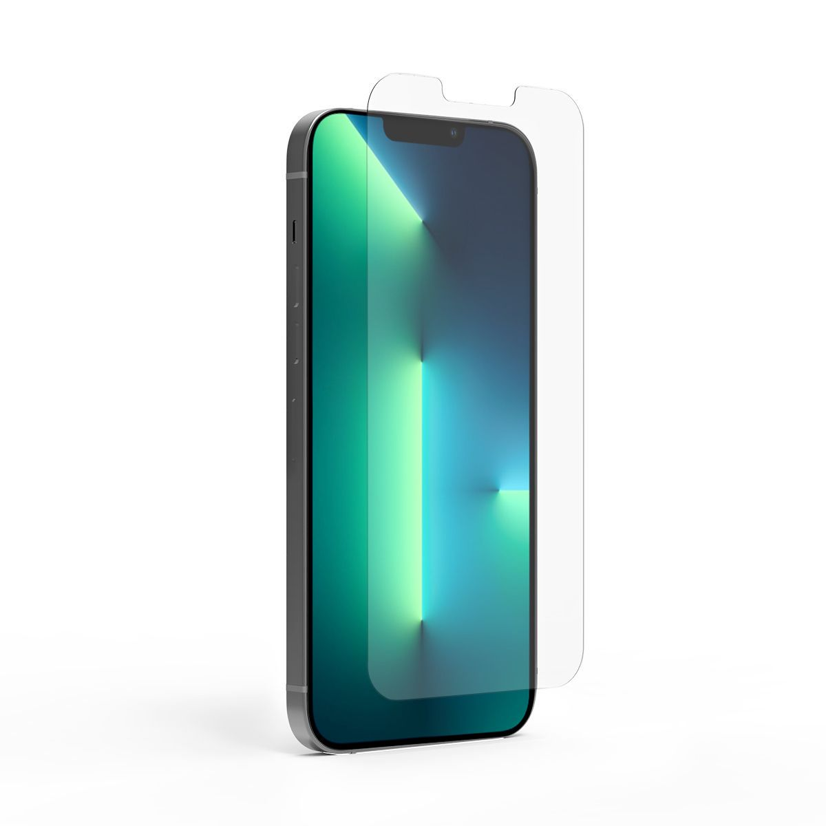 Apple iPhone 13 Pro Max Steel 360 Antimicrobial Tempered Glass Screen Protector with Alignment Tray and Pure Pledge up to $100