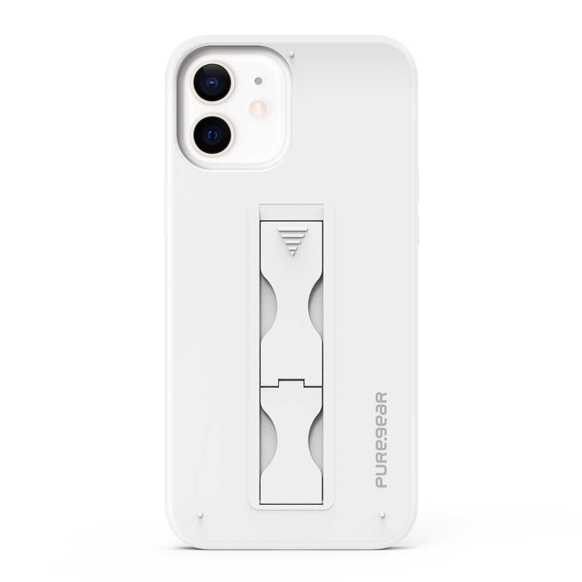 Apple iPhone 12/ 12 Pro SlimStik, Antimicrobial Kickstand Case – Whiteout